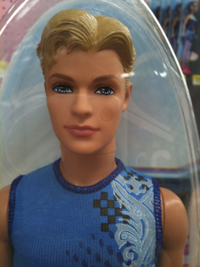 Ken doll plastic
